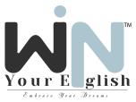 win your english logo
